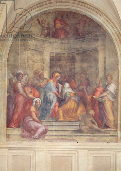 The Visitation, from the cloister, 1516 (fresco)