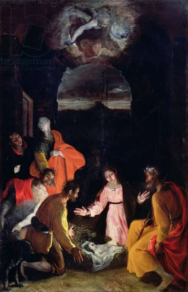 Adoration of the Shepherds, 1590 (oil on canvas)