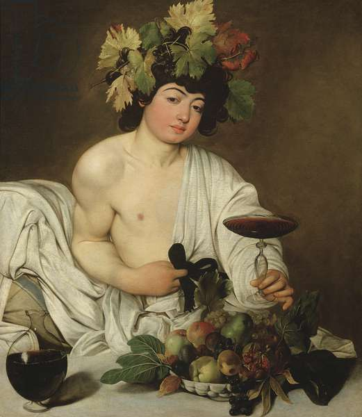 The Young Bacchus, c.1589 (oil on canvas)