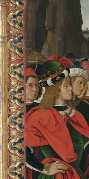 Detail from the Adoration of the Magi, c.1476 (oil on panel)