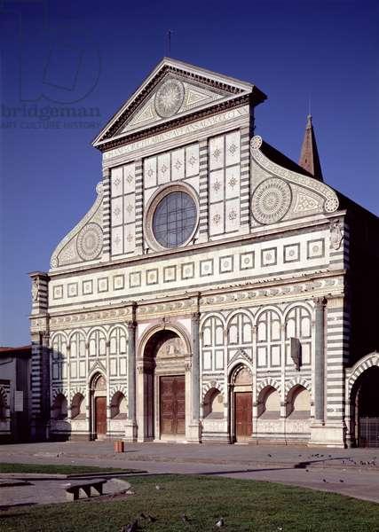 View of the facade, c.1456-70 (photo)