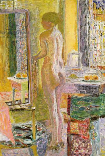 Nude Before a Mirror, 1931 (oil on canvas)