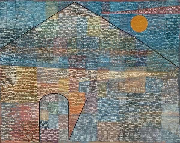 Ad Parnassum, 1932 (oil and casein paint on canvas)