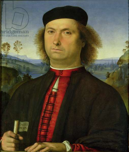 Portrait of Francesco delle Opere, 1494 (oil on panel)