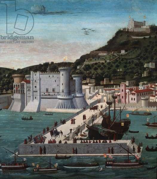 The Tavola Strozzi, 1472-3 (tempera on panel) (detail of 95824)