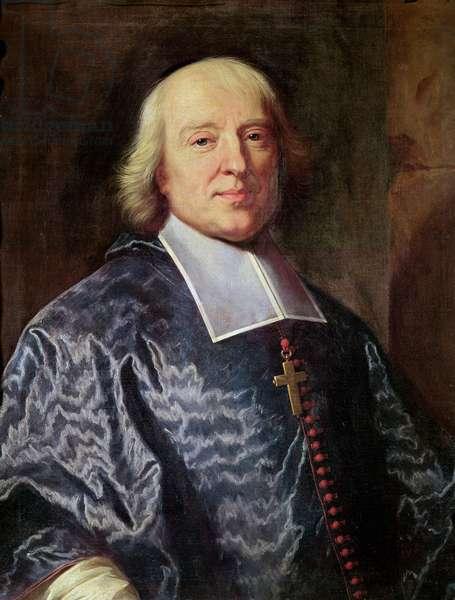 Portrait of Jacques Benigne Bossuet (1627-1704) 1693 (oil on canvas)