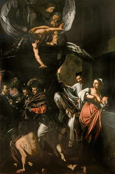 The Seven Works of Mercy, 1607 (oil on canvas)