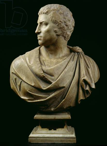 Bust of Brutus (85-42 BC) c.1540 (marble) (see also 244606)