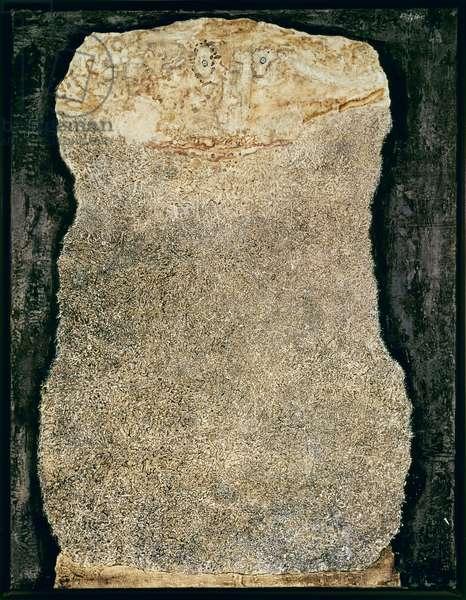 Beard of Uncertain Returns, November 1959 (oil on canvas)