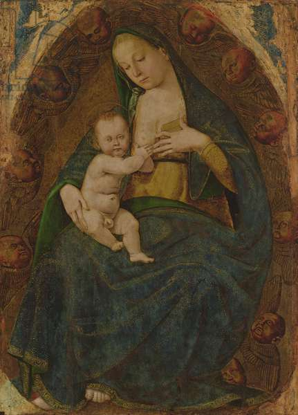 Virgin and Child, also known as Madonna of the Milk, 1480-83 (oil & gold leaf on panel)