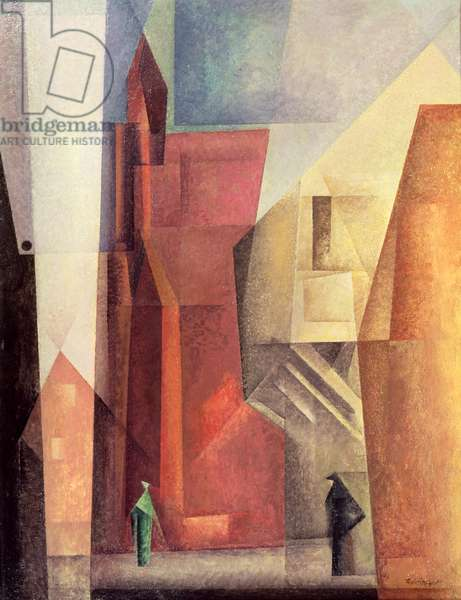 Tower I, 1923-26 (oil on canvas)
