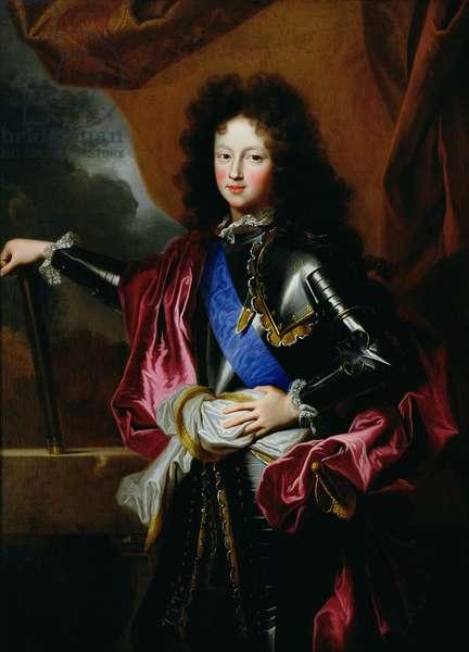 Portrait of Louis of France (1682-1712) Duke of Burgundy, c.1697 (oil on canvas)