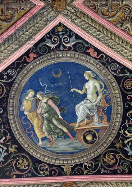 The Moon, from the Sala dell'Udienza, 1496-1500 (fresco)