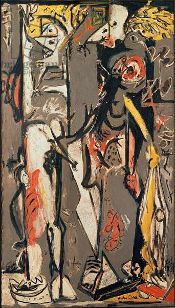 Two, 1943-45 (oil on canvas)