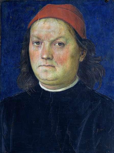 Self Portrait, from the Sala dell'Udienza, 1496-1500 (fresco)