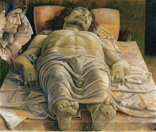 The Dead Christ, c.1480-90 (tempera on canvas)