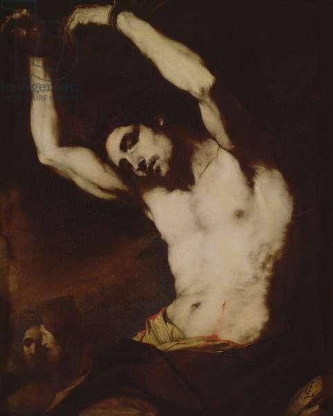 St Sebastian (oil on canvas)