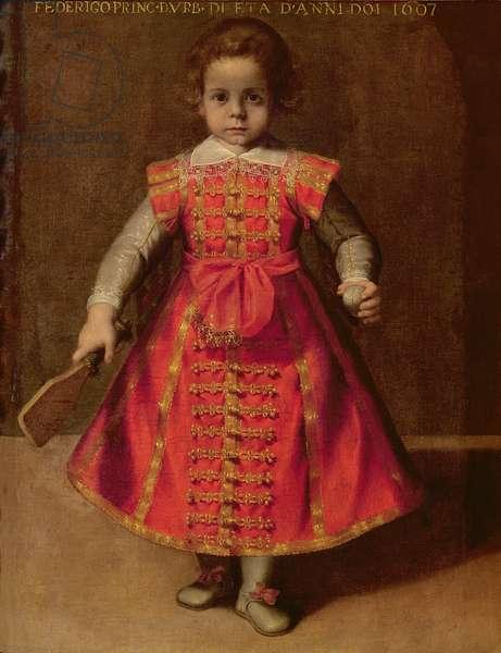 Federico Ubaldo della Rovere aged 2, 1607 (oil on canvas)