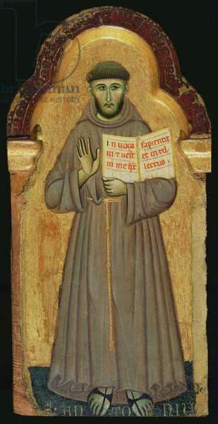 St. Francis, 1272 (tempera on panel)
