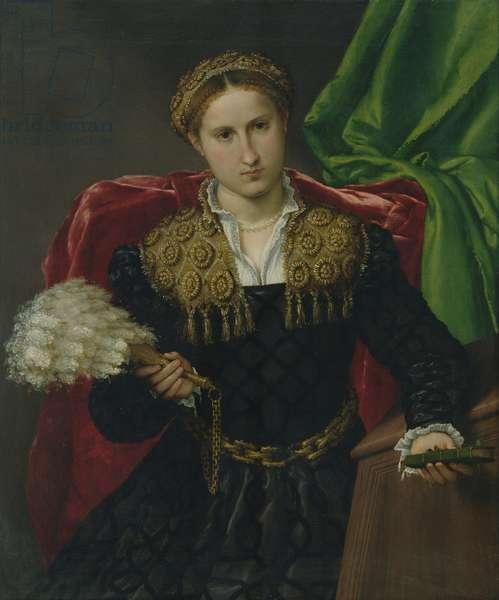 Portrait of Laura da Pola, wife of Febo da Brescia, 1543-44 (oil on canvas)