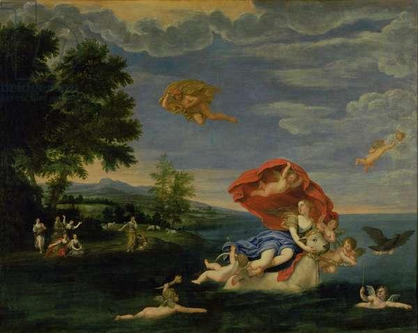 The Rape of Europa (oil on canvas)