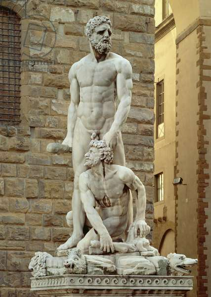 Statue of Hercules and Cacus, 1534 (marble)