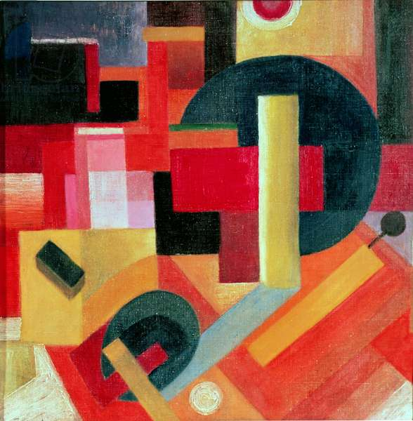 Degrees of Depth, 1915 (oil on canvas)