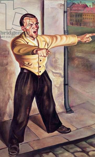 The Agitator, 1931 (oil on canvas)