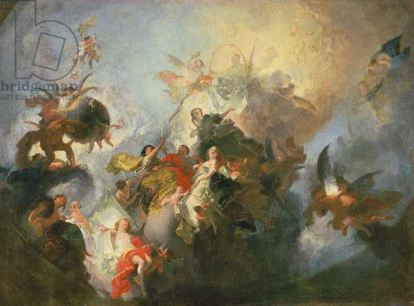 The Glorification of the Order of Premonstratensians, c.1765 (sketch)