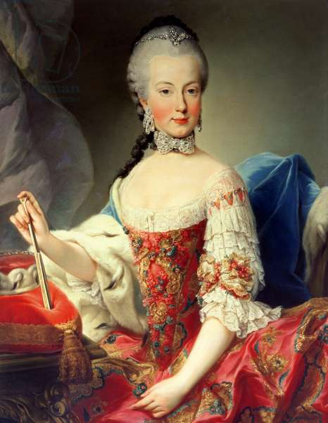 Archduchess Maria Amalia Habsburg-Lothringen, (1746-1804), eighth child of Empress Maria Theresa of Austria (1717-80) and Emperor Francis I (1708-65)