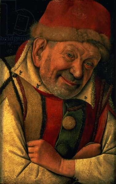 Gonella, the Ferrara court jester, c.1445 (panel)