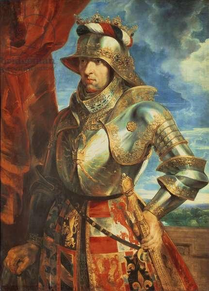 Maximilian I (1459-1519), 1518 (panel)
