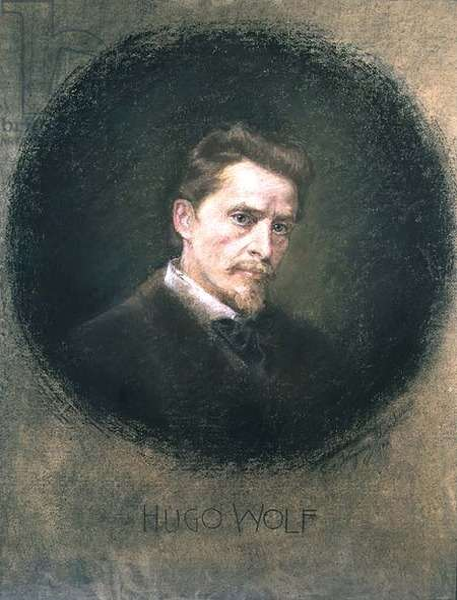 Hugo Wolf (1860-1903), 1902 (pastel)