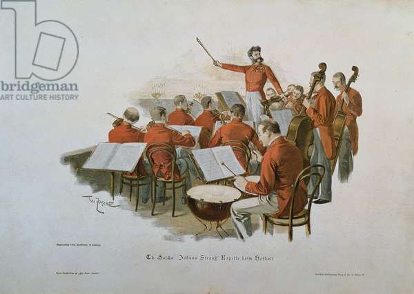 The Johann Strauss Orchestra at a Court Ball