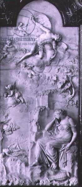 Hagar in the Wilderness, 1737-38 (marble)
