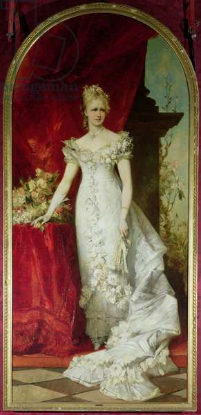 Crown Princess Stephanie of Belgium, consort to Crown Prince Rudolf of Austria (1858-89)