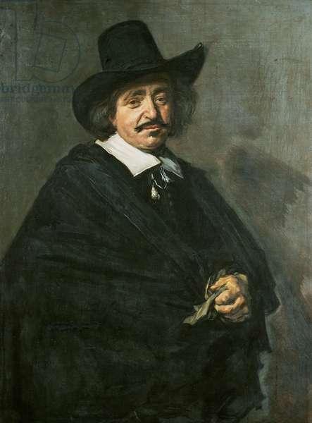 Portrait of a man, c.1654-55 (oil on canvas)