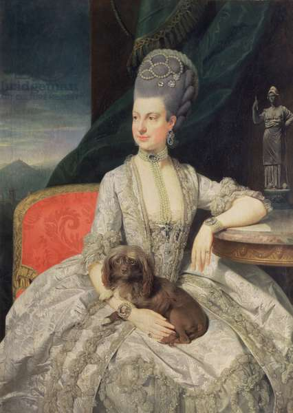 Archduchess Maria Christine Habsburg-Lothringen (1742-98), daughter of Empress Maria Theresa of Austria (1717-80) and Emperor Francis I of Austria (1742-98), 1776