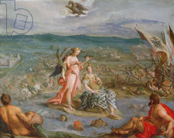 Allegory of The Turkish Wars: The Battle of Sissek 1593