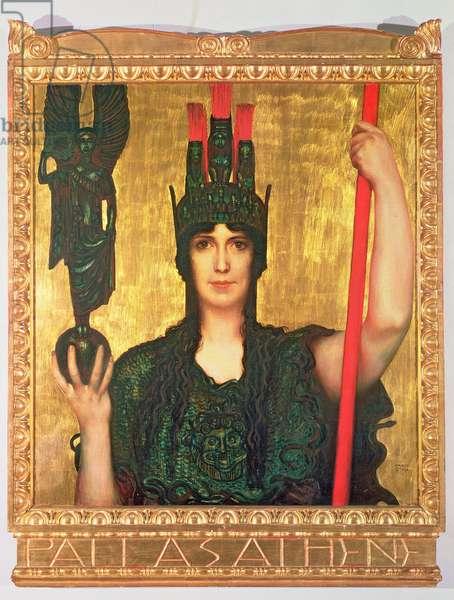 Pallas Athena, 1898 (panel)
