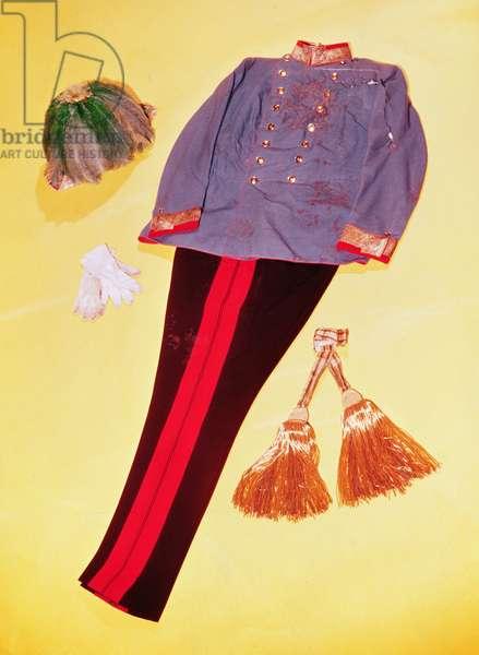 The Military Uniform of Franz Ferdinand, Archduke of Austria (1863-1914)