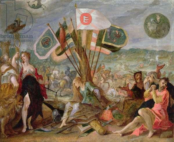 Allegory of the Turkish Wars: The Battle of Hermannstadt