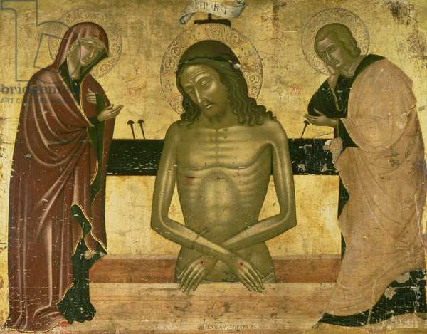The Agony of Christ with the Virgin and St. John the Baptist c.1489-93 (panel)