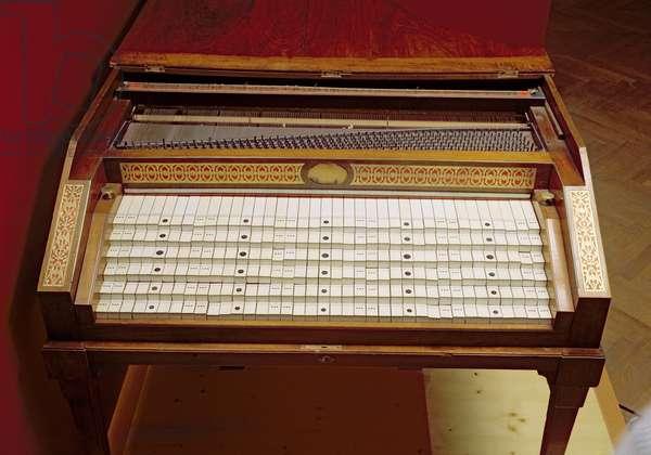 Harpsichord, by Johann Jakob Konnicke (1756-1811), 1796 (photo)