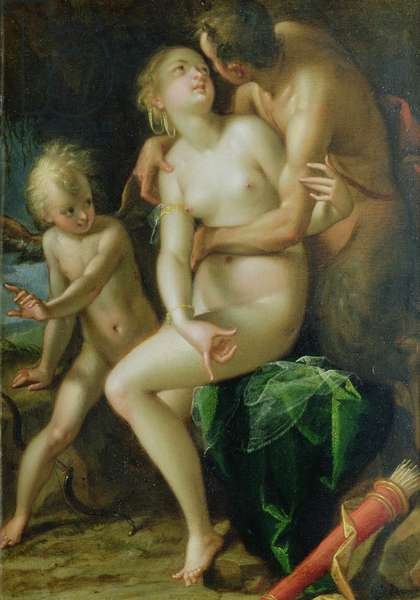 Jupiter, Antiope and Cupid