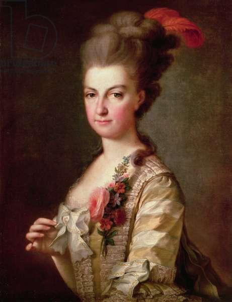Archduchess Marie-Christine Habsburg-Lothringen (oil on canvas)