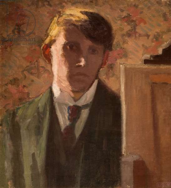 Portrait of the Artist, 1906 (oil on canvas)