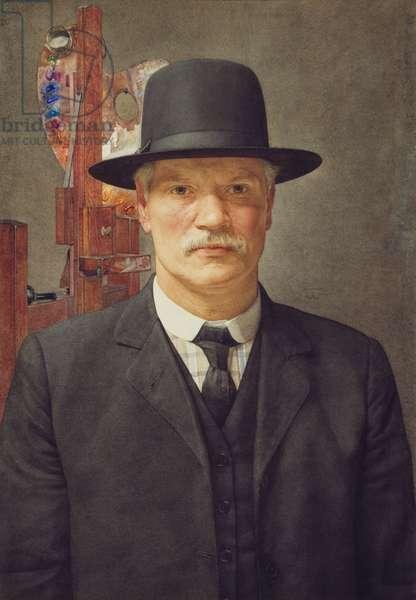 Self Portrait, 1914-16 (w/c on paper)