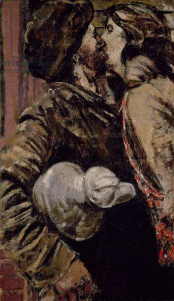 The Miner, 1935-36 (oil on canvas)