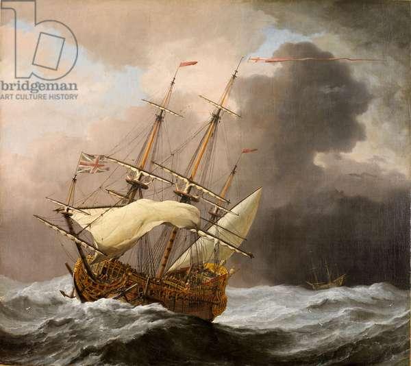 The 'Hampton Court' (oil on canvas)